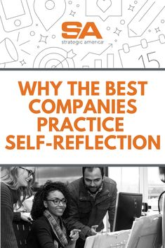 Self-reflection isn't just for individuals. See what companies need to do the same from SA HR Guru, Jill LaBarre. Crucial Conversations, Employee Engagement, Competitor Analysis, Good Company, Digital Marketing, Reflection, Self, This Or That Questions, America