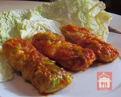 Dal blog Valebel in cucina la ricetta per gli involtini di verza una secondo piatto sfizioso che farà amara la verdura anche ai bambini