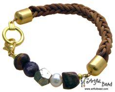 Jewelry Making Classes, Braided Leather, Division, Calendar, Bracelets, Life Planner, Bracelet, Arm Bracelets, Bangle