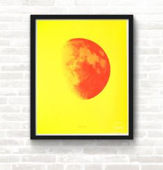 Moon and Back—Yellow & Orange – Studio January #studiojanuary