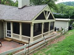 Screen Porch Addition Design Ideas, Pictures, Remodel and Decor