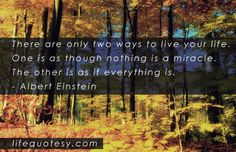 Send this living life quote by Albert Einstein