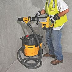 DEWALT DWH053K Large Hammer Chipping Dust Extraction System