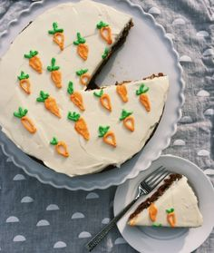 Whole Wheat Carrot Cake with Cream Cheese Frosting // The Shortbread Cure