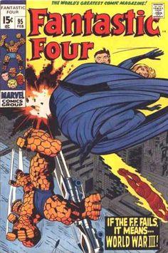 Fantastic Four # 95 by Jack Kirby & Joe Sinnott