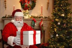 L'arrivo di Babbo Natale il 24 Dicembre