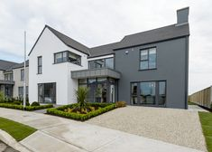 Braghan Point, Baltray, Co. Louth - New Homes For Sale Contemporary Radiators, Contemporary Front Doors, Grey Front Doors, Back Doors, Large Shower Trays, Munster Joinery, Granite Paving, Timber Fencing, Porch Doors