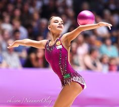 Dina AVERINA (Russia) ~ Ball @ Grand Prix Holon-Israel 23-24/06/'17  Photographer Oleg Naumov.