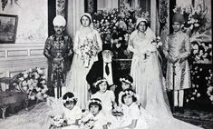 "misshonoriaglossop: "" Prince of Barar Wali Ahed, Azam Jah (Mir Himayet Ali Khan) pen name Azam, Princess Durreshewar daughter of Caliph Abdul Majid II (In centre) of Ottoman empire, Princess Nilofer,..."