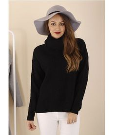 Lucy Roll Neck Ribbed Knit Jumper – Black $ 59.95 ribbed knit  •  jeans •  boots | f r e e    p o s t