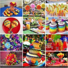 fiesta cubana decoracion - Buscar con Google