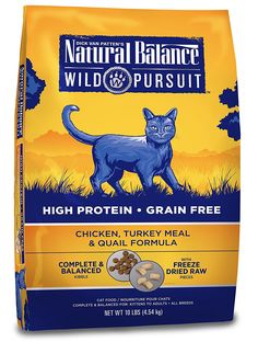 Natural Balance Wild Pursuit Beef and Lamb Meal Formula Dry Cat Food * Check out this great image  : Best Cat Food