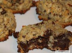 Hazelnut Chocolate Coconut Cookies #paleo #grainfree #familyfavorite