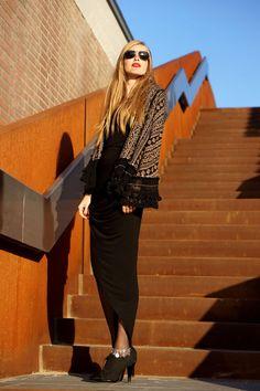 Eat fashion every day || Outfit - boho asymmetric - bohemian outfit - autumn winter