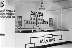 Milk Bar, London 1890