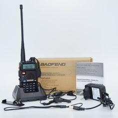 Baofeng UV-5R uv5r Walkie Talkie Bidirezionale Radios128CH Portatile Dual Band VHF/UHF 136-174/400-520 MHz Transceiver Ham Radio