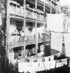 Cortiços no Rio, antes da reforma de Pereira Passos