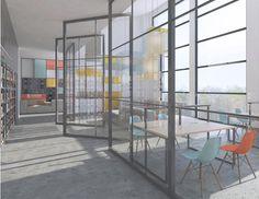 Biblioteka szkolna   School library - Marta Czeczko - architektura wnętrz   interior design Interiors, Room, Furniture, Home Decor, Bedroom, Decoration Home, Room Decor, Rooms, Home Furnishings