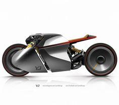 Ottonero Cafe Racer: Yasid design