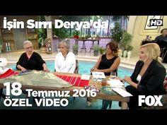 Sevil Takavut'tan kumaştan şalvar yapımı...İşin Sırrı Derya'da 18 Temmuz 2016 - YouTube