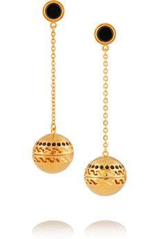 Kilian Studio 54 gold-plated scented earrings | NET-A-PORTER