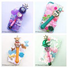 Sailor moon rod decoden phonecase for iphones samsung by YYKawaii