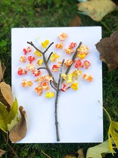 Fall Popcorn Tree This adorable popcorn fall tree craft is a fun way for toddlers and preschoolers to explore the colours of fall. All you need for this easy preschool craft is tempera paint powder, popcorn and twigs. Easy Preschool Crafts, Easy Fall Crafts, Fall Preschool, Daycare Crafts, Fall Crafts For Kids, Preschool Activities, Kids Crafts, Popcorn Crafts, Popcorn Tree