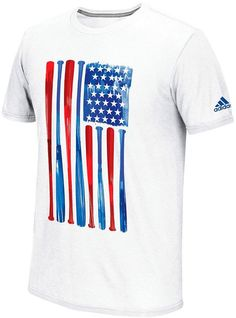 Men s adidas Climalite Baseball Flag Tee Adidas Men b7be504fed
