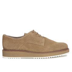 63add2a6878 Zapato Blucher mujer Beige Piel - Zapatos online miMaO – miMaO ShopOnline