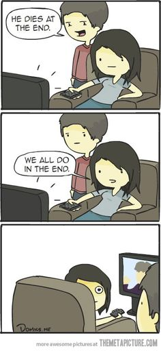 How to deal with people who spoil endings…