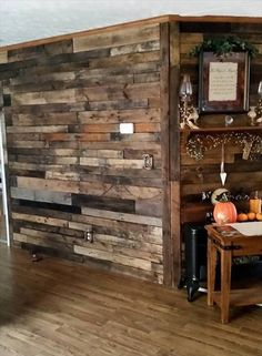 Pallet Wood #Wall - Pallet Room #Divider | 101 Pallet Ideas