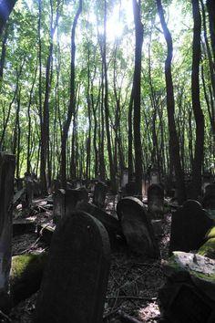Cementerio judío en Varsovia. Fotografía de Gervasio Sánchez