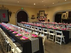 Kate Spade themed bridal shower at Windmill Ridge Winery