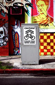 industrial, graffiti, colour