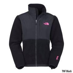 The North Face Womens Denali Pink Ribbon Jacket