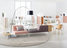 In love with this residential feeling office furniture - Docks by Grosch and Meier
