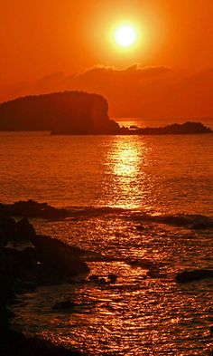 Ibizan Sunset, Es Cana (by Nick Fewings)