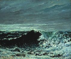 Gustave Courbet. - The Wave