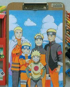 Naruto through ten years Wallpaper Naruto Shippuden, Naruto Shippuden Sasuke, Naruto Wallpaper, Naruto And Sasuke, Boruto, Naruhina, Gaara, Anime Naruto, Naruto Art