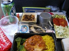 Airline Food ! Malaysia Airlines
