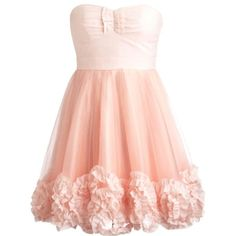 Cotton Candy Dress ($180) ❤ liked on Polyvore featuring dresses, vestidos, robes, short dresses, mini dress, cotton cocktail dress, pink dress, sweetheart dress and short pink dress