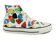 New Converse All Star Lovely Candy Low Top Canvas