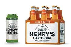 Henry's Hard Soda from MillerCoors