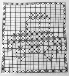 Nika Smith - Crafting Tips Filet Crochet, Crochet Motifs, Crochet Diagram, Crochet Chart, Crochet Doilies, Crochet Stitches, Cross Stitch Borders, Cross Stitch Kits, Cross Stitching