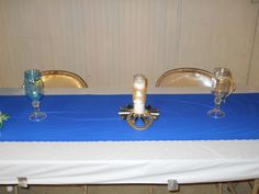country weddings. Bridal table