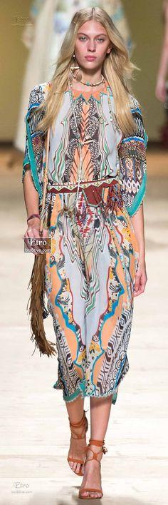 Etro Spring 2015-16 RTW Collection #fashion