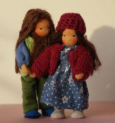 Dollhouse dolls in Love