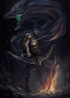 I drew Overwatch heroes inspired by Dark Souls