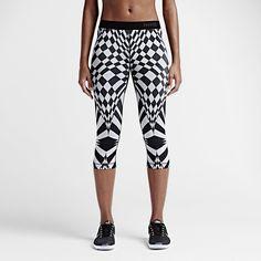 Nike Pro Engineered Warped Check Women's Training Capris. Nike Store