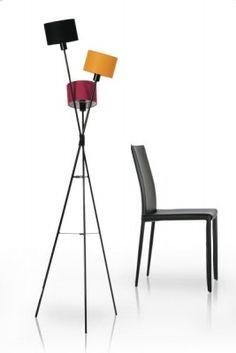 moderne design stehlampe studio weiss silber lampe blattsilber, Hause ideen